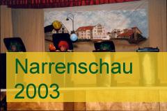 Narrenschau 2003