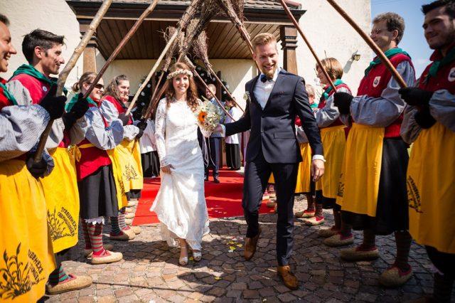 Wieder eine Hochzeit bei den Streibehexen …